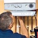 Havtech Technician Inspecting Boiler