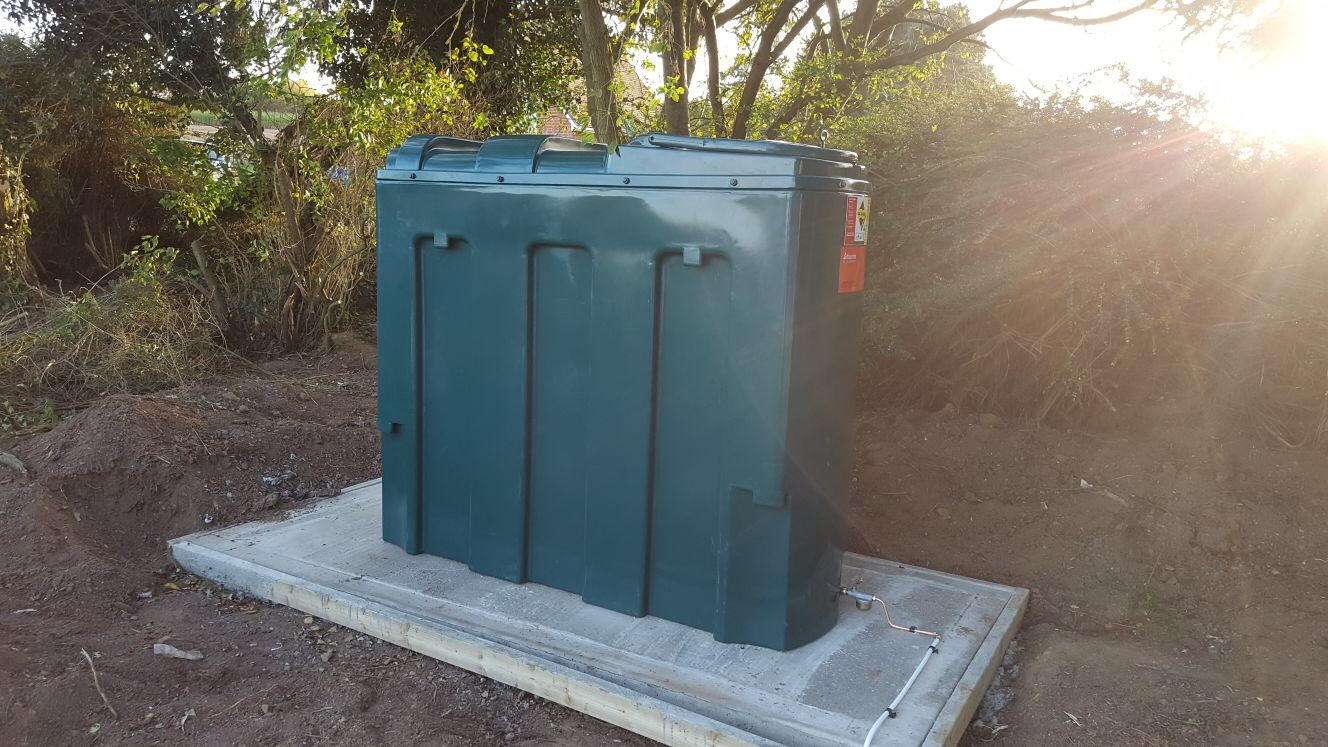 New oil tank install by Havtech