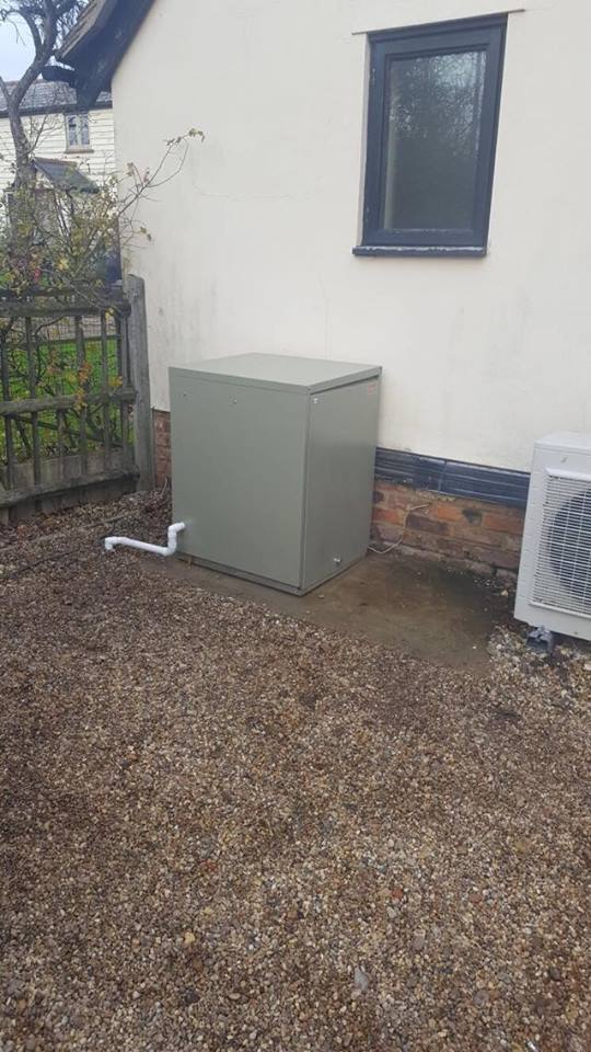 Oil boiler installed by Havtech
